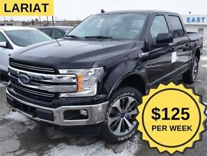 2019 Ford F-150 Lariat $125/wk 4x4 NAV LEATHER 20IN WHLS TRL TOW