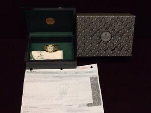 Lady's Rolex Cellini 18kt gold. 1106 Av.Mont Royal E.