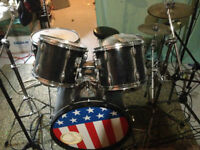 5 Piece Tama Rockstar Drum Kit - Shells Only, Snare Included