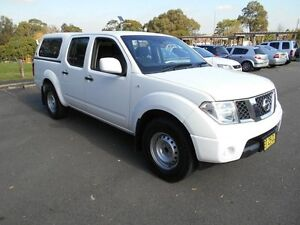 2012 Nissan Navara D40 MY12 RX (4x2) White 5 Speed Automatic Dual Cab Pick-up Yagoona Bankstown Area Preview