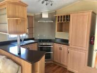 Luxury 2 bed static caravan, pet friendly park, open 12 months, great sea views