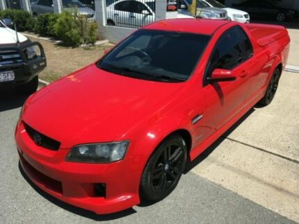 2009 Holden Ute VE SV6 60th Anniversary Red 6 Speed Manual Utility