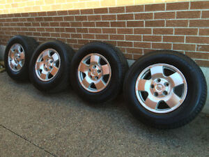Toyota Tundra tires brand new with ITP sensors rims