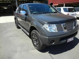 2009 Nissan Navara D40 ST-X (4x4) Grey 5 Speed Automatic Dual Cab Pick-up Coopers Plains Brisbane South West Preview