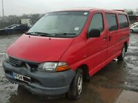 TOYOTA HIACE 3000 2005 MINOR FRONT STARTS AND DRIVES PERFECTLY GREAT ASSET CAT D TEL 07814971951