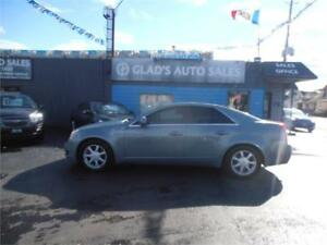 2008 Cadillac CTS w/1SA+PANORAMIC ROOF+HEATED LEATHER+AWD