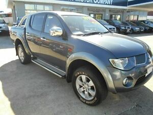 2008 Mitsubishi Triton ML MY08 GLX-R (4x4) Grey 4 Speed Automatic 4x4 Dual Cab Utility Victoria Park Victoria Park Area Preview