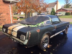66 GT K Mustang Fastback with Shelby Parts For Sale