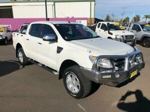 2012 Ford Ranger PX XLT 3.2 (4x4) White 6 Speed Manual Dual Cab Utility Dubbo Dubbo Area Preview