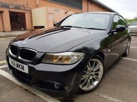 2011 BMW 3 SERIES 320i M SPORT AUTOMATIC SAT NAV FULLY LOADED 1 OWNER FULL SERVICED NEW MOT
