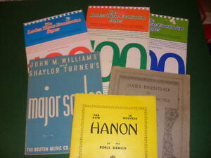 Piano Lesson Music Books 12. per group, 25 for all three groups