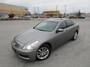 2009 INFINITI G37X *LEATHER,SUNROOF,NAVIGATION,BACKUP CAM!!!*