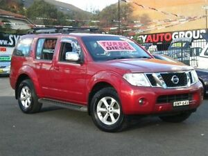 2010 Nissan Pathfinder R51 MY07 ST-L (4x4) Maroon 6 Speed Manual Wagon Homebush Strathfield Area Preview
