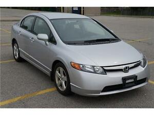 2007 Honda Civic LX Very Clean Car In Mint Condition!
