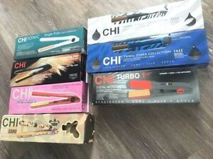 Clear out prices on straighteners, Chi brand, all NEW in box