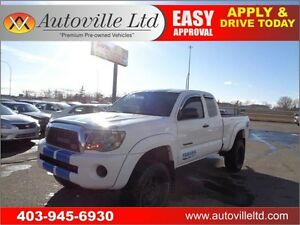 2010 TOYOTA TACOMA 4X4 MANUAL LIFTED