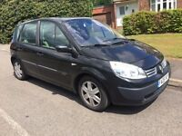 2006 Renault Scenic 1.6 Expression in black cheap reliable car