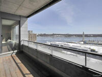 Incredible views of the st-lawrence-LUXURY CONDO in old Montreal