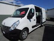 2014 RENAULT MASTER VAN MWB Hi Roof, Books, 150DCI Own from $117* Currumbin Waters Gold Coast South Preview