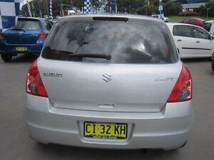 2010 Suzuki Swift EZ 07 Update S Silver 5 Speed Manual Hatchback Greenacre Bankstown Area Preview
