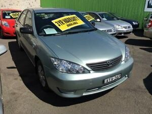 2004 Toyota Camry ACV36R Altise Mint Green 4 Speed Automatic Sedan Lidcombe Auburn Area Preview