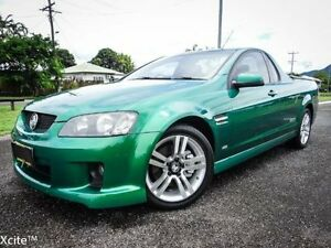 2010 Holden Commodore VE MY10 SS Green 6 Speed Manual Utility Bungalow Cairns City Preview