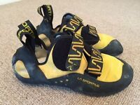 La Sportiva Katana climbing shoes UK7, EU40.5