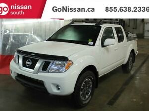 2017 Nissan Frontier PRO-4X: LEATHER, NAVIGATION, SUNROOF!