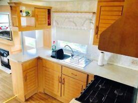 Amazing static starter caravan, inc 2018 site fees, west coast scotland £9995