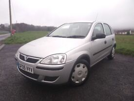 2005 (05) Vauxhall Corsa 1.0ltr 5 Door ** Low Miles Only 62k ** F/S/H ** 12 Month Mot **