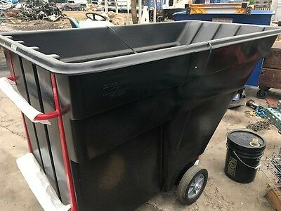 Rubbermaid 1025 Tilt Truck Dumpster 1-12 Cu Yd Cap 1200 Dump Buggy