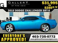 2010 Dodge Challenger SRT8 $289 bi-weekly APPLY NOW DRIVE NOW
