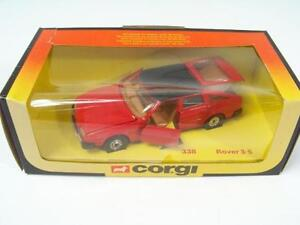 Corgi-338-Rover-3500-Red-Tan-Interior-A-B