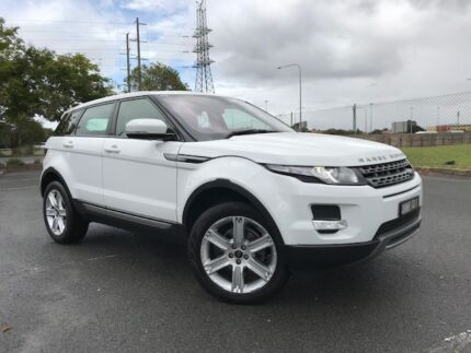 2012 Range Rover Evoque Pure+ Tech pack Turbo Diesel, 6sp Manual