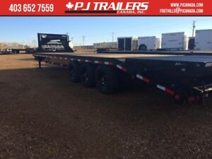 30' Gooseneck Trailer 21000GVWR  Monster Ramps FINANCE