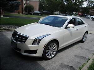 2013 Cadillac ATS LUXURY-AWD-NAVIGATION-REAR CAM-LOADED-ONLY 96K