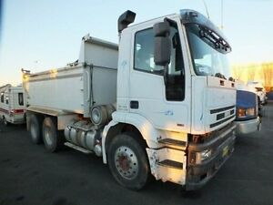 2000 Iveco Eurotech 6X4 White Tipper Fyshwick South Canberra Preview