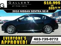 2010 Nissan Sentra SE-R $99 BI-WEEKLY APPLY NOW DRIVE NOW