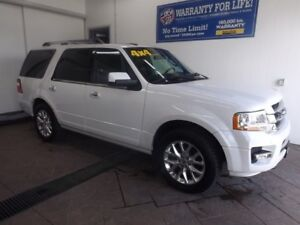 2015 Ford Expedition Limited 4X4 LEATHER NAVI SUNROOF DVD
