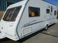 Sterling Eccles Jewel 4 berth fixed bed