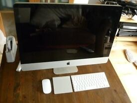 Apple iMac 27 inch i5 Processor 2.66 Ghz 8gb Ram 1TB Logic9 Adobe FinalCutProX/Studio **YOSMITE**