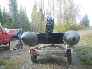 zodiac  fish n hunt boat and motor for sale