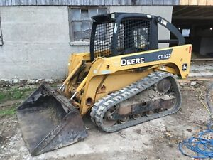 2006 JOHN DEERE CT 322 TRACK SKID STEER London Ontario image 1