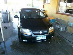 2007 Holden Barina 3744 Black Manual Hatchback Maddington Gosnells Area Preview