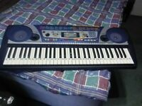 Yamaha psr 260 keyboard and mains adp.