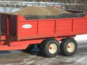 Pronovost dump trailer P 524