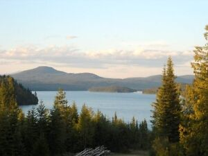 16 Acres overlooking Horsefly Lake! Cleared & Ready for Subdivis