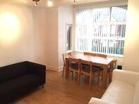 Huge ground floor three bedroom garden flat with parking space
