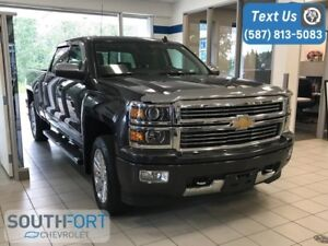 2014 Chevrolet Silverado 1500 Crew Cab High Country 6.2L LOADED