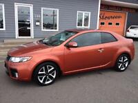 2010 Kia Forte SX Koup - Leather Int, 6speed, moonroof!!
